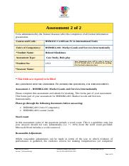 BSBMKG416 Assessment 2