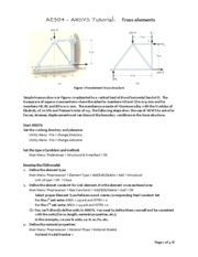 AE304_ANSYS_truss_tutorial