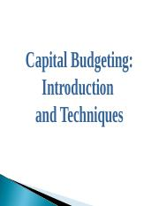 Introduction_to_Capital_Budgeting.pps