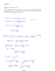 PHYS 474 HOMEWORK 7 SOLUTIONS