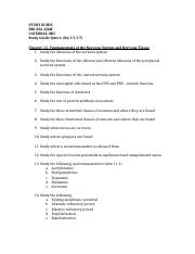 STUDY GUIDE FOR QUIZ 6