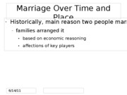 Topic 19 Sociology of Love, Marriage, and Divorce FOR BLACKBOARD