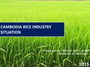 Cambodia_Rice_industry_situation_2015