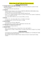 Determinants of Health Course Notes