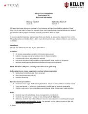 6 Macy's Case Rules and Rubric.docx