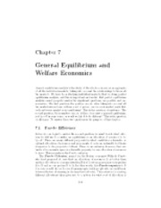 Chapter 07 - General Equilibrium and Welfare