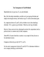 A quick summary - Tax Consequences of Cash Dividends.pdf