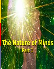 Nature of Minds 1.ppt
