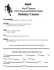 08 Holiday Classic