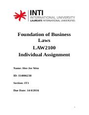 Law individual..docx