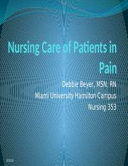 Nursing Care of Patients in Pain.pptx