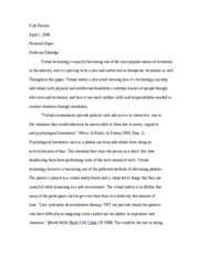 RECR200 research paper