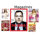 Magazines - for 1-22-14