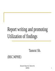7.research report