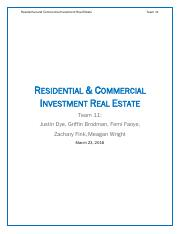 Team 11 - Residential & Commercial Investment Real Estate.pdf