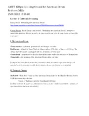 AMST 100gm - Lecture Notes (1)