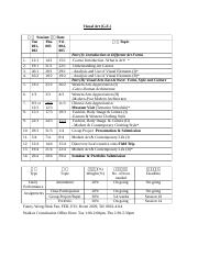 Teaching Schedule For Students