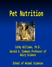 Pet Nutrition 2016 Handouts.ppt