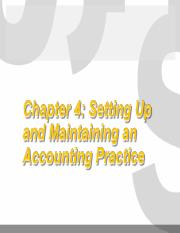 Chap 4_Setting Up and Maintening an Accounting Practice.ppt