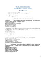 Test#1 Review Questions .docx