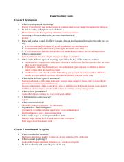 Psych 121 Exam 2 Study Guide.docx