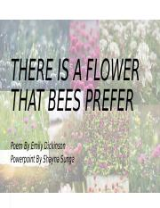 Shayna - Homework - There Is A Flowere That Bees Prefer