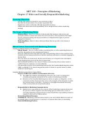 MKT-100-Principles-of-Marketing-Chapter-17-Notes