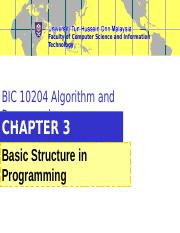 BIC+10204+Chapter+3+Basic+Structure+in+Programming.ppt