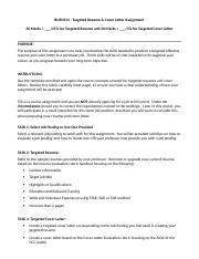 BUSN313 - Resume and Cover Letter Assignment.docx