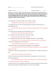 Foster Study Guide 2.doc