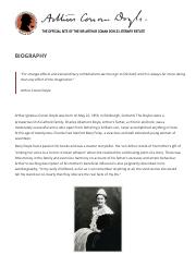Biography doyle.pdf