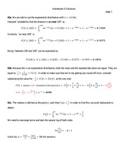 St 380 Exponential Distributions Homework Solutions