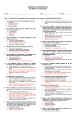 acc 211 midterm exame Final exam- fall fall 2018 final exam times are determined by the day and  start time of a class  (except jpn 111-112, 211-212), acc 460d fin 321, 2.