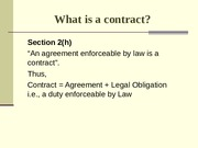 Chapter 2(b) Contract Act