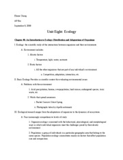 Ap bio essay 2008