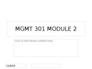 MGMT 301 MODULE 2 Part 1 & 2