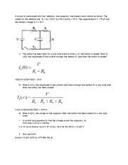 PHYS 121 ASSIGNMENT 11 SOLUTIONS
