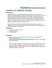 TBP MI 1.2.1 Antibiotic Therapy