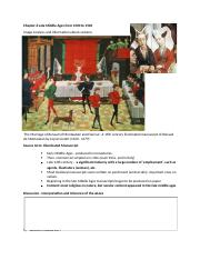 Chapter 6 Late Middle Ages from 1300 to 1500 Outline by chen.docx