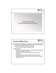 2013 Session 1 Introduction and Financial Accounting Environment