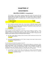 Chapter17TestBank
