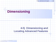 Dimensioning Exercise