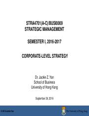 Week 5_Corporate-Level Strategy