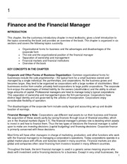 Finance_Brealey_Chapter01