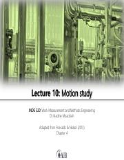 Lecture 10 - Motion study.pdf