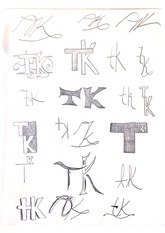 logotype sketches homework