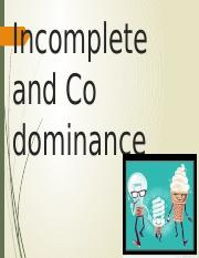 Incomplete and Codominance.pptx