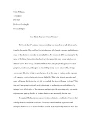 PSY 363 Research Paper
