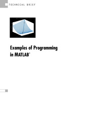 Examples Of Programming In Matlab