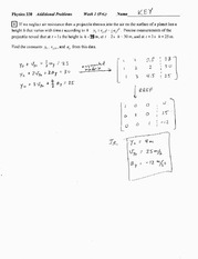 Worksheet 4 Solution